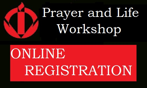 Prayer and Life Workshop Registration