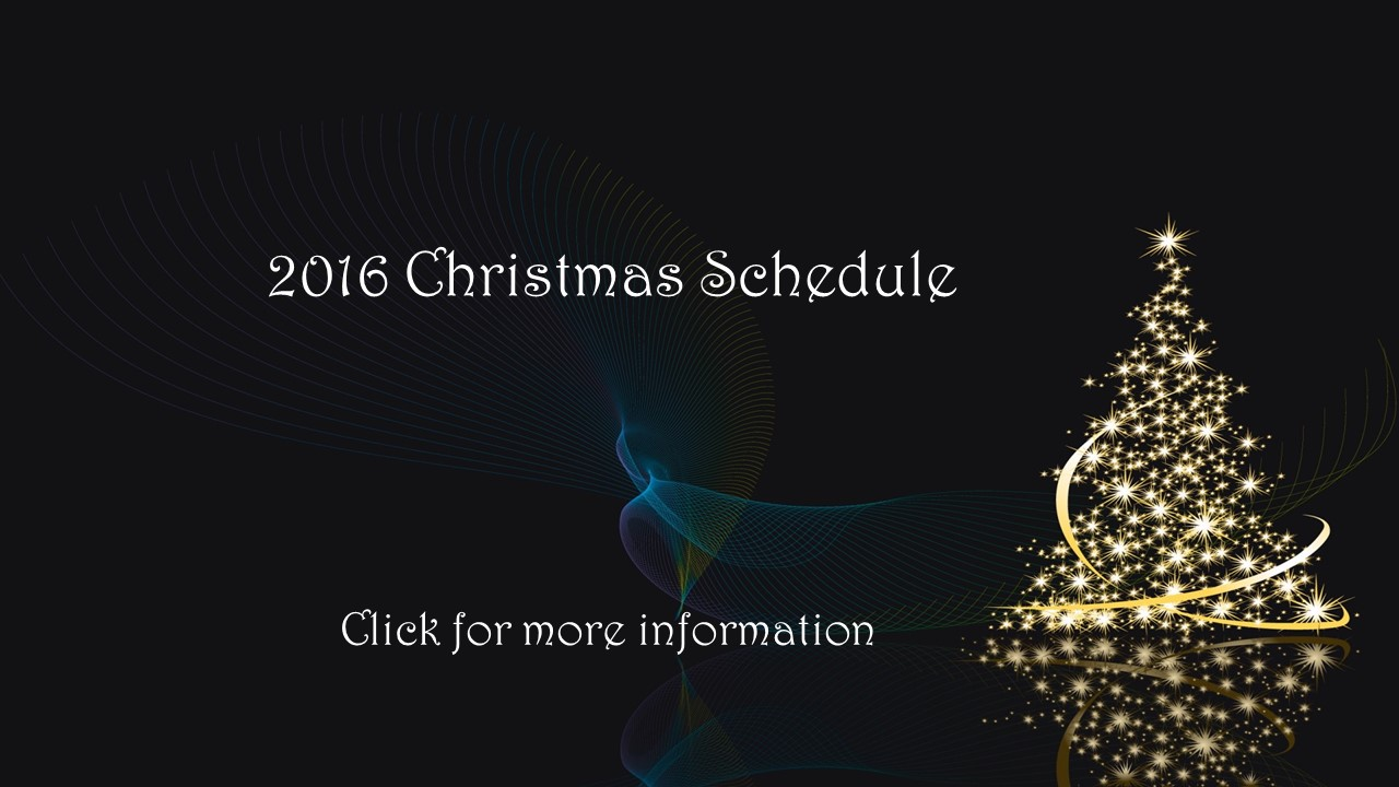 2016-christmas-schedule