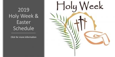 2019 Holy Week