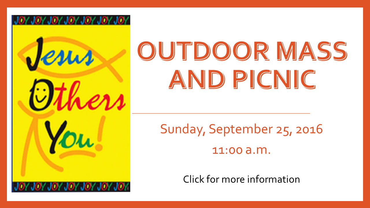 Outdoor Mass and Picnic