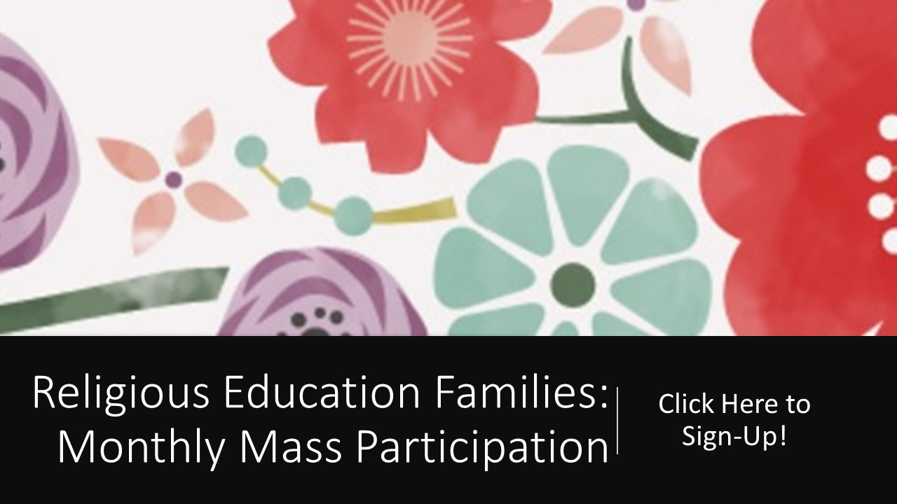 RE Families Mass Sign-Up