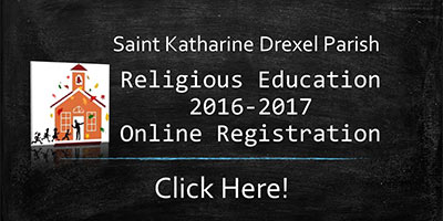 Religious Education 2016-2017 Online Registration