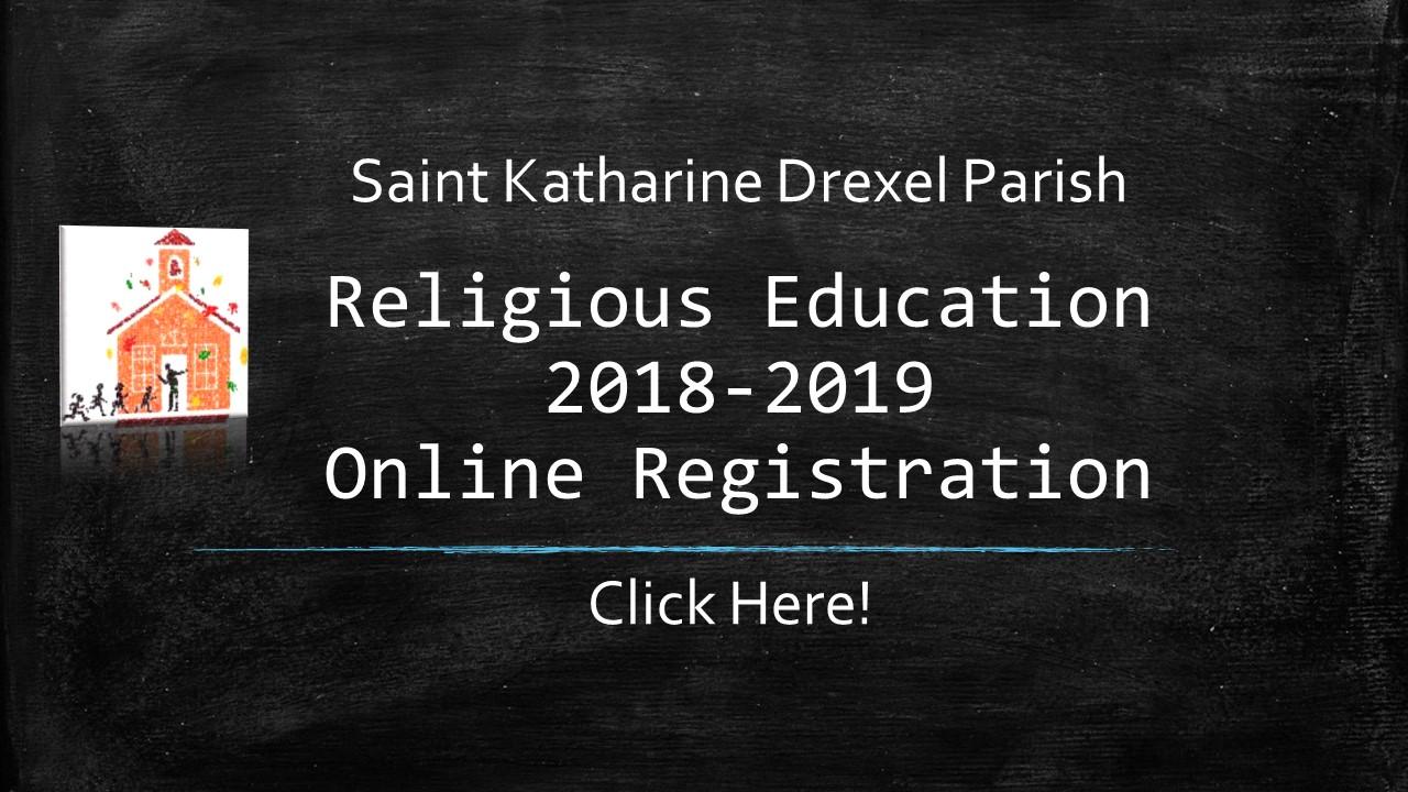 RE Registration 2018-2019