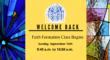 Faith Formation Welcome Back 2021