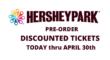HersheyPark Ticket Sale 2021