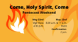 Pentecost Weekend 2021