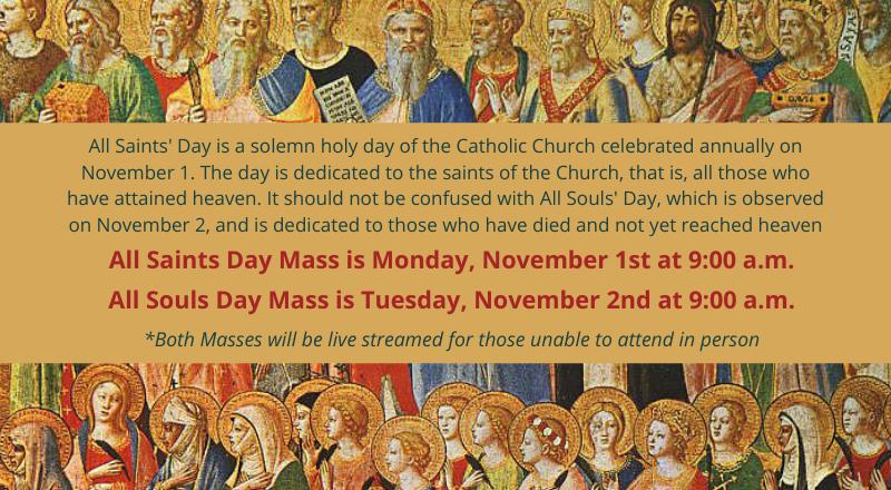all saints and souls