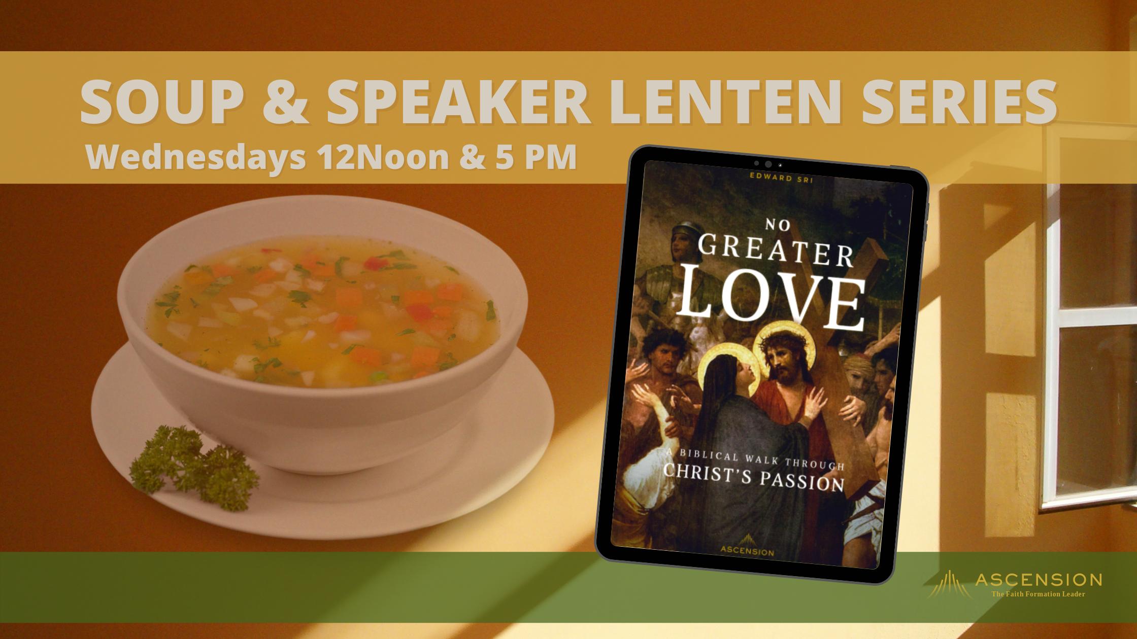 nogreaterlove-soup and speaker