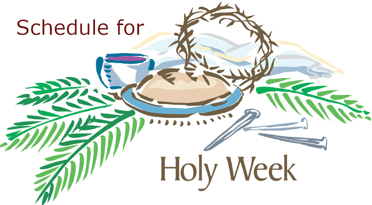 schedule-for-holy-week