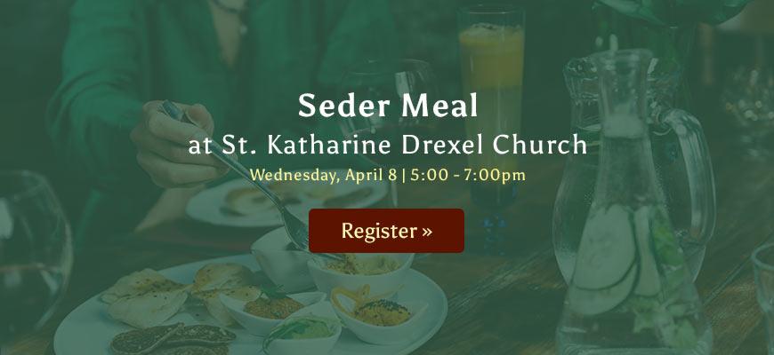 Seder Meal - April 8, 2020