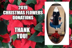 SKD Christmas Flower Donations