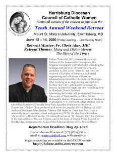 Retreat Info Flyer
